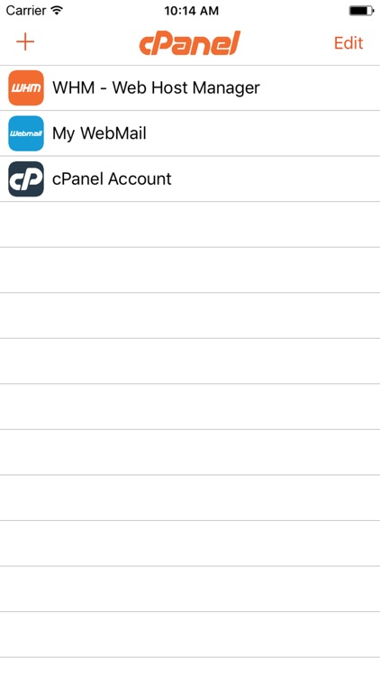 cPanel screenshot-0