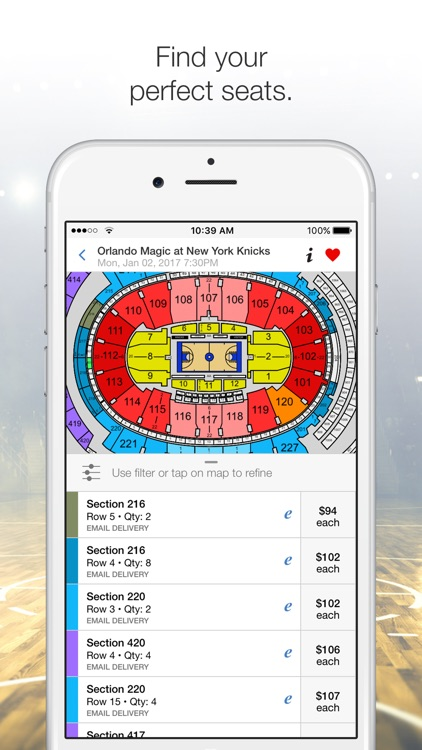 Vivid Seats – Tickets: Sports, Concerts, Theater screenshot-2