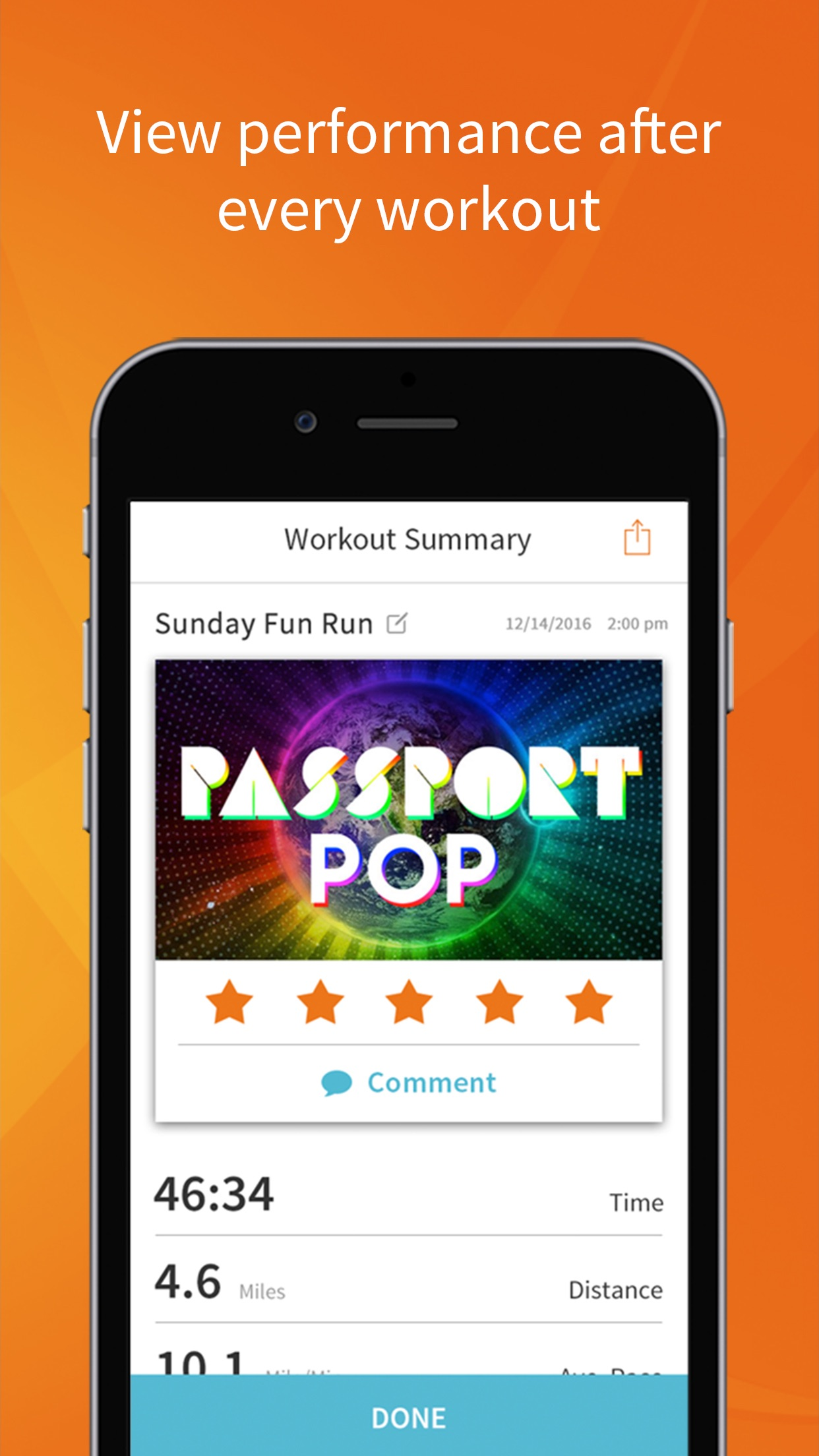 RockMyRun - Workout Music Screenshot