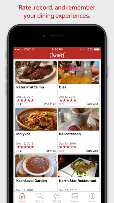 Screenshot for iTastify in United States App Store