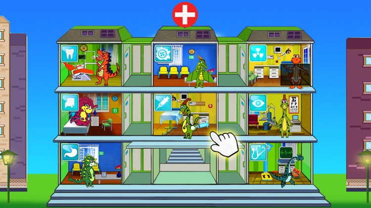 Dino Hospital -Dinosaur Doctor Games for Baby Kids