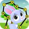 点つなぎキッ英語動物 - パズルゲーム - iPhoneアプリ