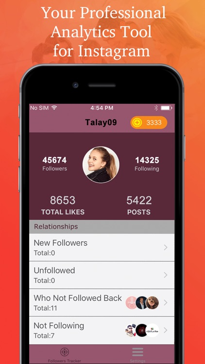Followers Tracker - Analytics Tool for Instagram
