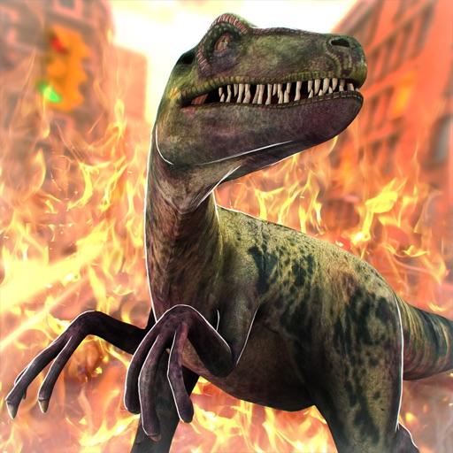юрский динозавр город легенда