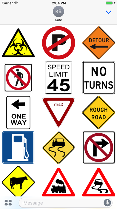 Street Sign Stickers screenshot two