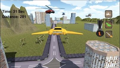 Real Flying Car Jet : Futuristic Racing Moto screenshot two