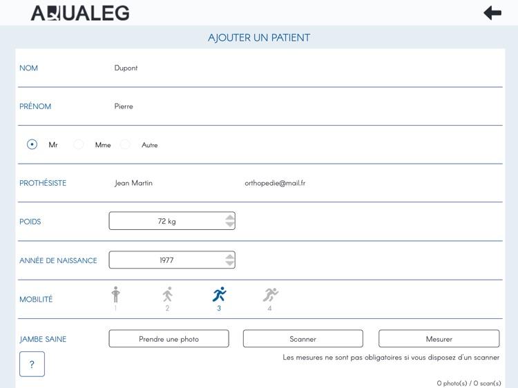 Aqualeg screenshot-3