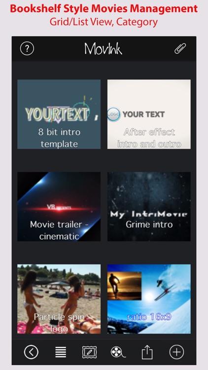 MovInk - Draw design cut full feature video editor screenshot-4