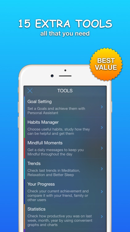 Guided Meditation, Sleep and Relaxation: Calm Mind screenshot-3