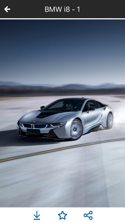 HD Car Wallpapers - BMW i8 Edition screenshot-4