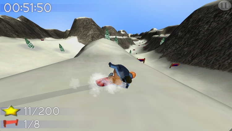 Big Mountain Snowboarding screenshot-0