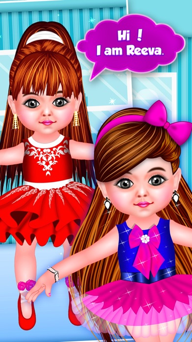 Baby Doll Ballerina Fashion Salon screenshot three