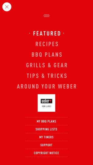 Weber® Screenshot