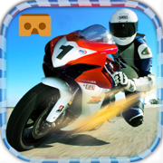 VR Race Moto GP. Crazy bike stunts virtual Reality