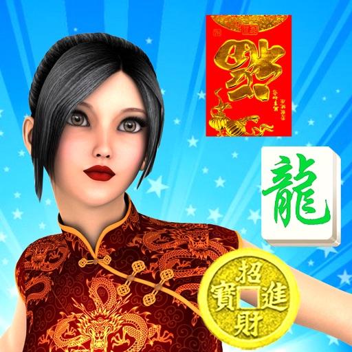 Chinese New Year - mahjong tile majong games free