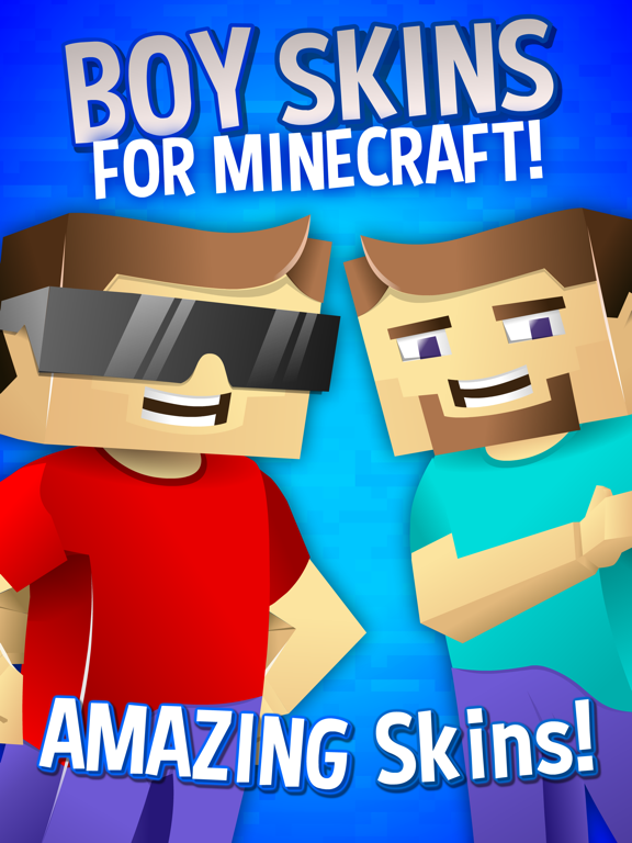 Boy Skins For Minecraft - Boys Minecraft Skins | App Price Drops