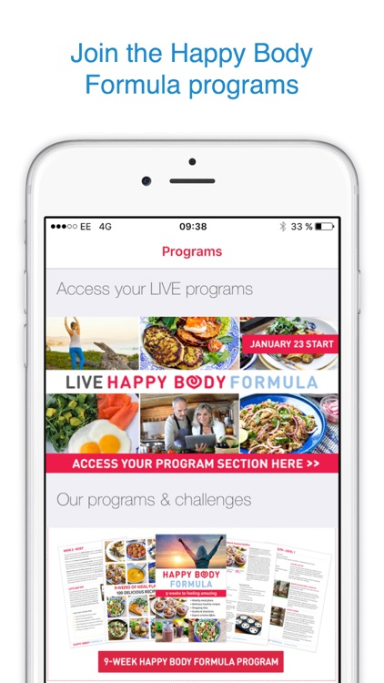 Happy Body – Real Food Journal & Community screenshot-3