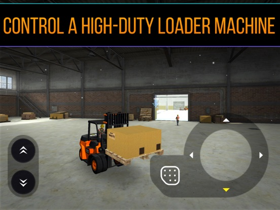 Railway Forklift Simulator 3D-ipad-1