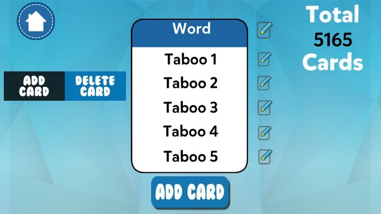 Charades Taboo Game screenshot-3