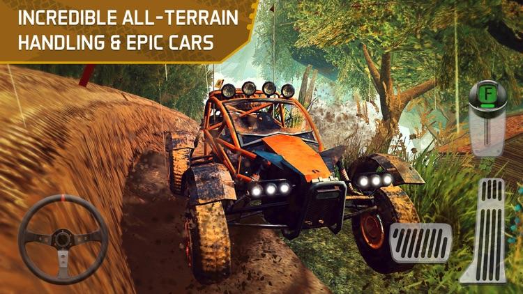 4x4 Dirt Track Trials Forest Driving Parking Sim screenshot-3