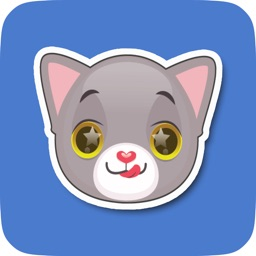 Large Animated Cat Emoji Pack