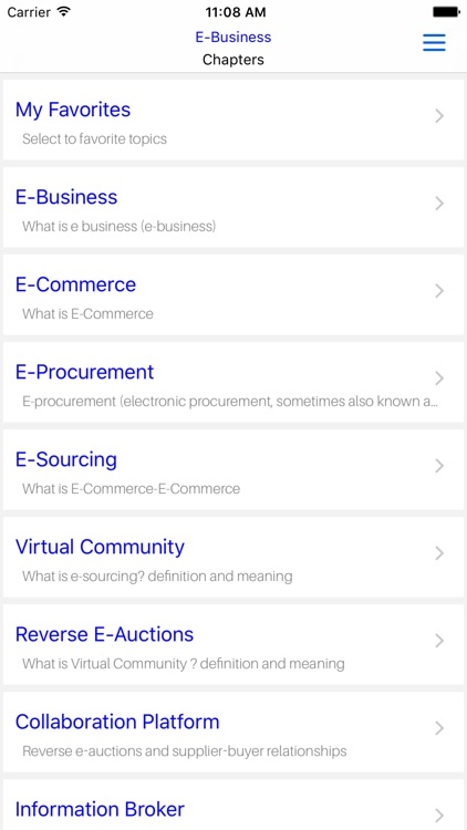 Mba E-Business screenshot-4