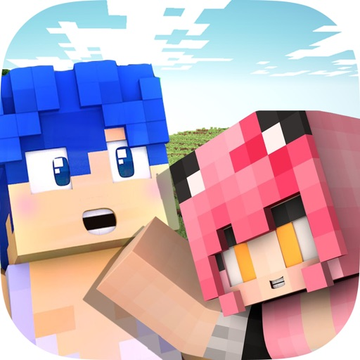 Cute Couple Dante Kawaii Skins For Minecraft PE By Nhi Doan - Skin para minecraft pe kawaii