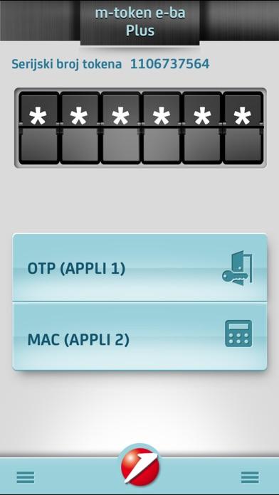 m-token e-ba Plus Screenshot on iOS