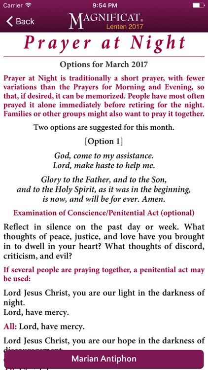 Lenten Magnificat Companion 2017 screenshot-4