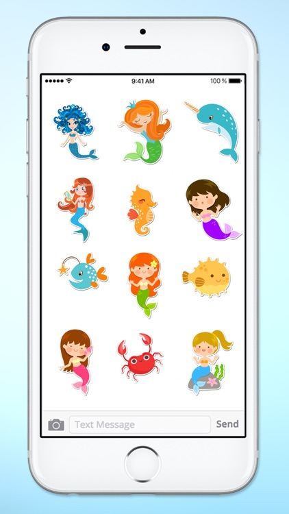 Magical Mermaids & Under Sea Friends Sticker Pack