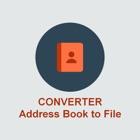 Address Book Converter to TXT File icon