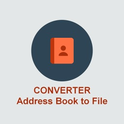 Address Book Converter to TXT File