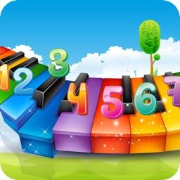 弹钢琴学儿歌 HD(节奏大师,钢琴块,钢琴谱)