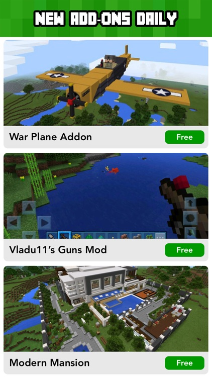 Add ons for Minecraft PE - MCPE Maps & Mini Games