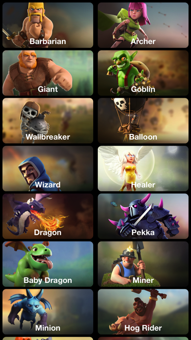 Gems Guide for Clash of Clans.のおすすめ画像2