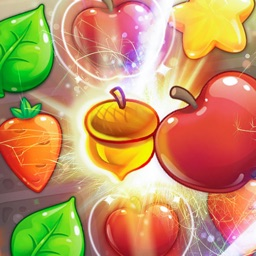 Glamour Farms: New Puzzle Match 3 Games