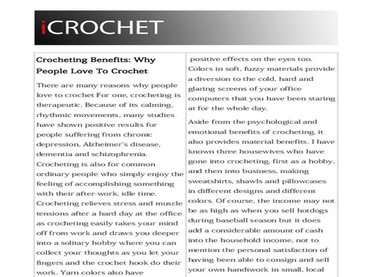 iCrochet - Learn Crochet Magazine screenshot-3