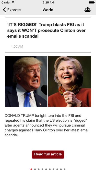 Uk Newspapers Plus - Daily News From The UK screenshot three
