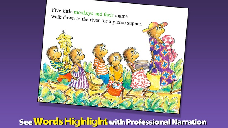 Five Little Monkeys Sitting in a Tree screenshot-1