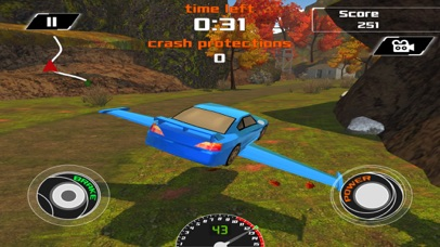 3D Flying Car VR Racing Simulator 2017 screenshot 2