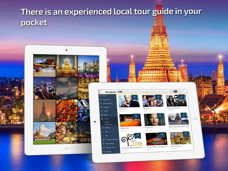 Bangkok Travel Guide & offline city map
