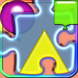 Fun Learn Shapes In Puzzles