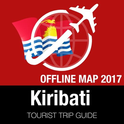 Kiribati Tourist Guide + Offline Map