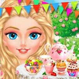 Princess Tea Party - Royal Makeup & Dress Up Salon