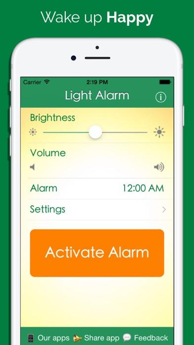 Light Alarm review screenshots