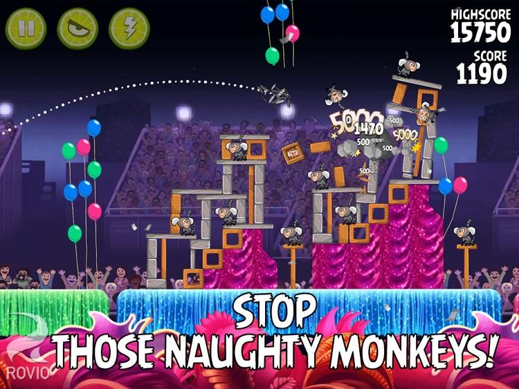 Angry Birds Rio HD screenshot-3