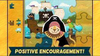 海盜學齡前拼圖– 適合男孩女孩的趣味教育幼兒遊戲和學校活動屏幕截圖4