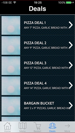 Pizza2go On The App Store