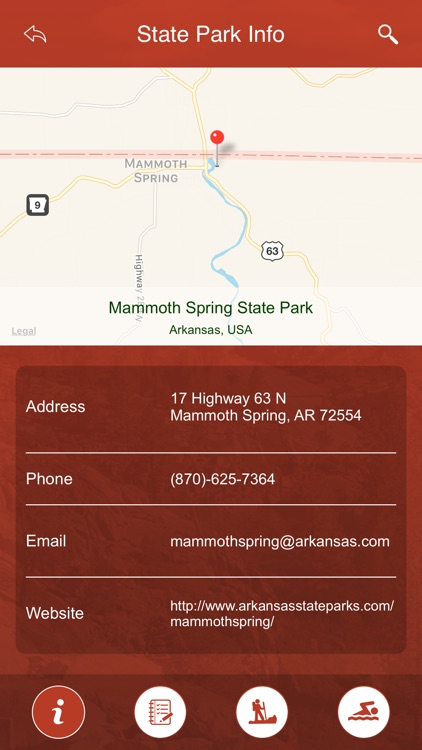Arkansas State Parks, Trails & Campgrounds screenshot-3
