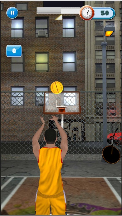 Real Bassketball Pro 3D screenshot one